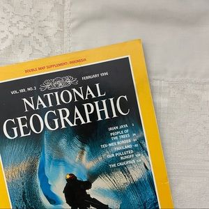February 1996 National Geographic magazine